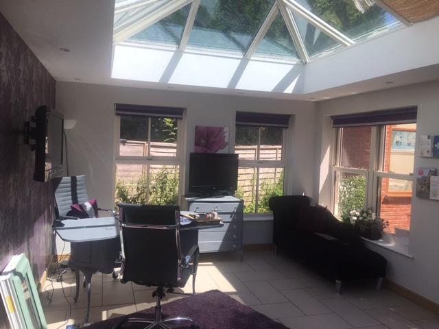 Orangery Interior - Taunton Sales Office