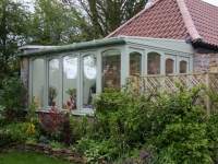 Green Hardwood Conservatory