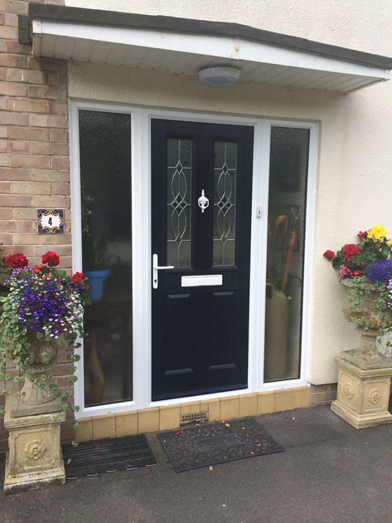 Black Composite Front Door Archives Mendip Conservatories