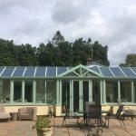Green T Shape Conservatory Bristol